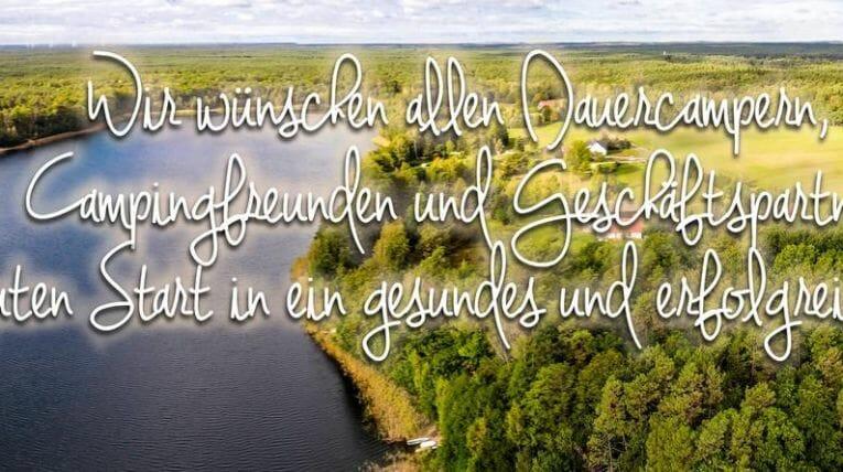 Alle Gute für das neue Jahr wünscht das Waldcmaping-Team!