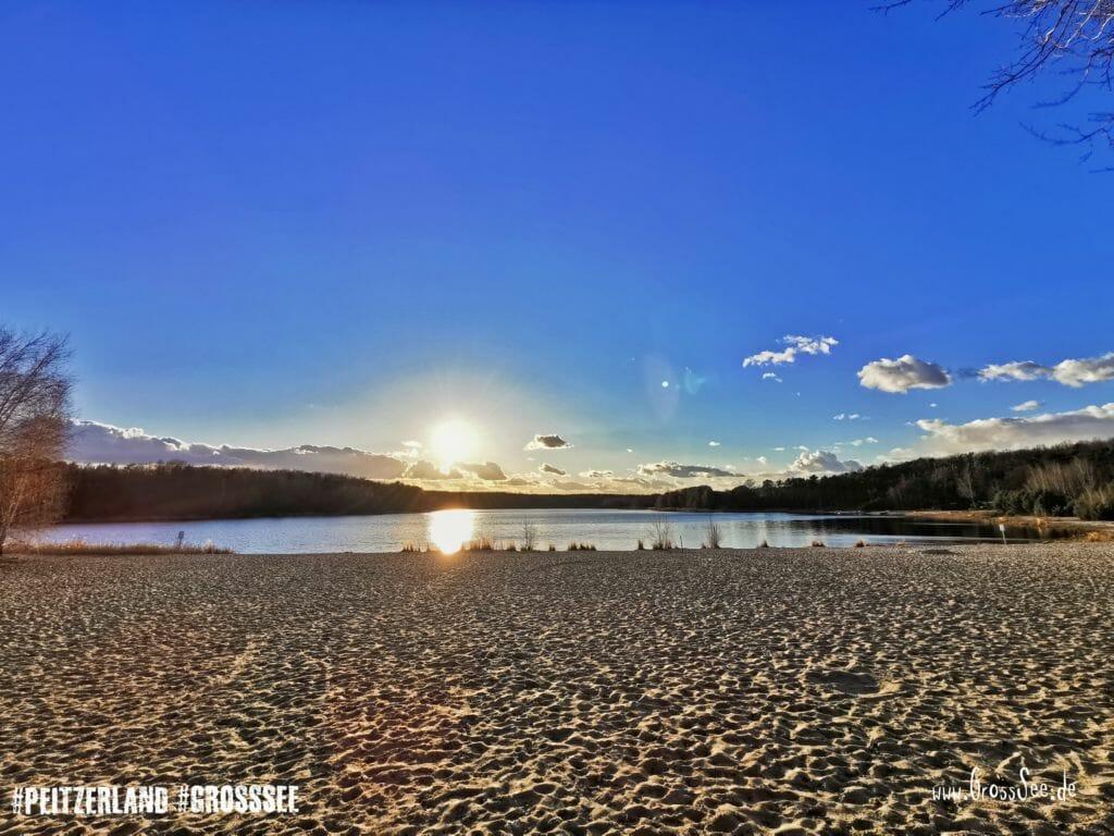 Großsee - Sonnenuntergang