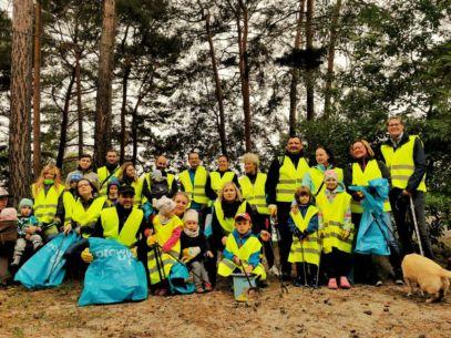 Teilnehmer 2021 Cleanup-Day am Großsee